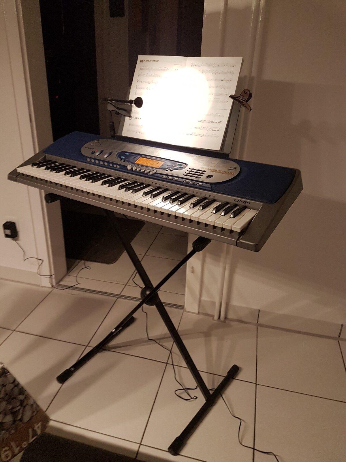 Gebraucht Keyboard Casio LK- 65