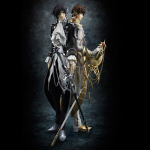 Code Geass Lelouch of the Rebellion R2 CLAMP Lelouch /& Suzaku Figure New No Box