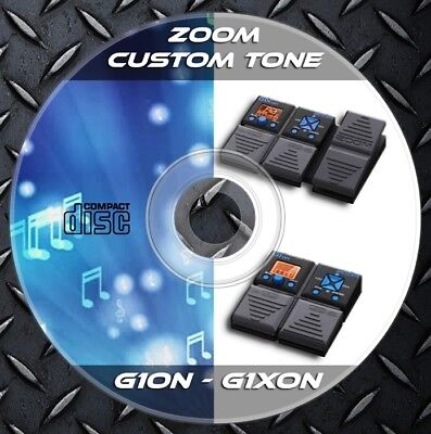 Custom Tone Preset /& 48.328 Guitar TAB Patches ZOOM G1on-G1Xon Multi Effects