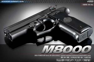 M8000 Cougar Airsoft Pistol BB Replica Hand Military Toy Gun 6mm Academy