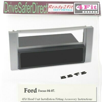 FORD FOCUS 2003-2006 CD STEREO RADIO FASCIA FACIA ADAPTOR FP-07-09 FITTING KIT