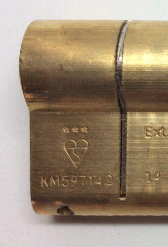 TS007 3 STar Anti Snap Euro Cylinder for UPVC Doors