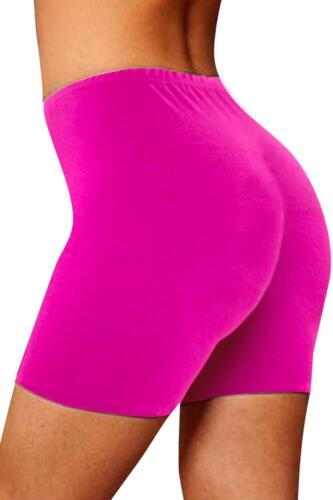 Ladies Womens Cycling Shorts Dancing Shorts Lycra Leggings Active Casual Shorts