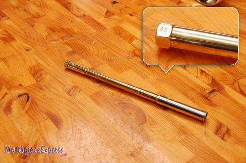 Raw Brass NEW CC4 43 Genuine Bach Stradivarius Bb Trumpet 180 Leadpipe