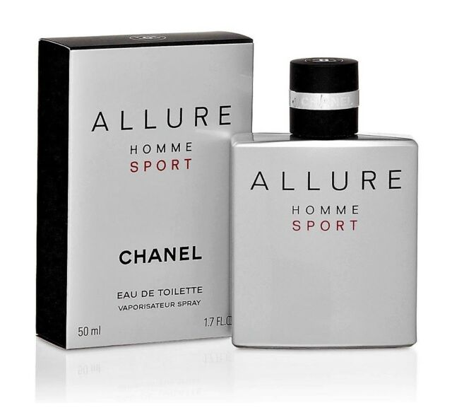 Chanel Allure Homme Sport 50 ml Eau de Toilette Flakon Neu & Ovp EDT-Spray