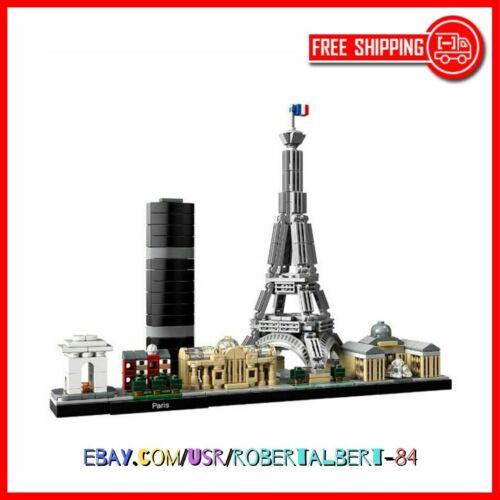 Architecture Skyline Collection Paris Collection Building Blocks Kit LEGO-ED NEW