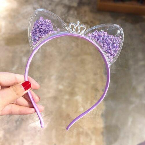 Cute Cat Ears Headband Baby Girls Hairbands Korean Children Princess Accessories