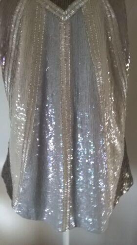 i Top tutti Nwot Uk10 santi argento splendido us eu38 formato di Jada gilet con 6 FqZAF0