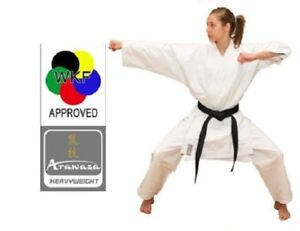 Details about NEW Arawaza HEAVYWEIGHT Adult Karate Suit Gi MARTIAL ARTS  12oz WKF APPROVED