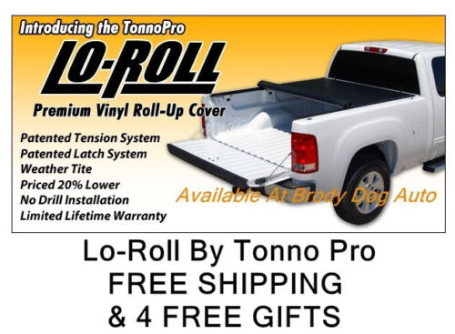 1999-2007 Ford F250//350 6.8 FT Roll Up Tonneau Bed Cover By Tonno Pro LR-3025