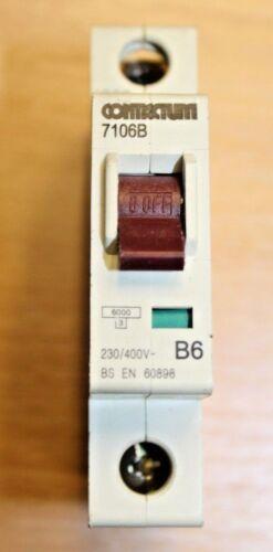 Contactum 7132B 7106B 9016B Reja de desminado 6K tipo B RCD 60898 D7