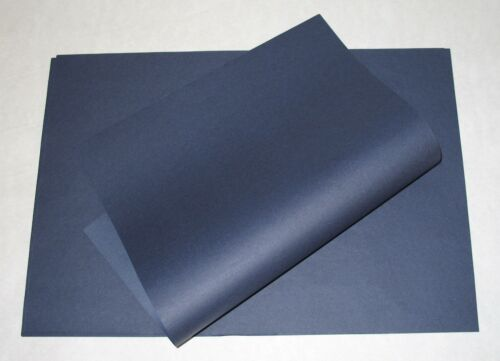 200 Bogen 50x75cm stahlblau Seidenpapier Blumenseiden Geschenkpapier Dekopapier