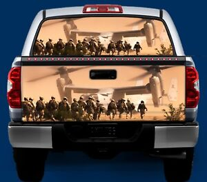 5cfb1f8c587c5a Desert Army- Tailgate OR Window Truck Tailgate Wrap Vinyl Graphic ...