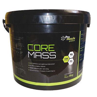 Motivata 4kg Massiccia Calorie Core Anabolizzanti Massa Proteine Weight Gainer-fragola Panna-