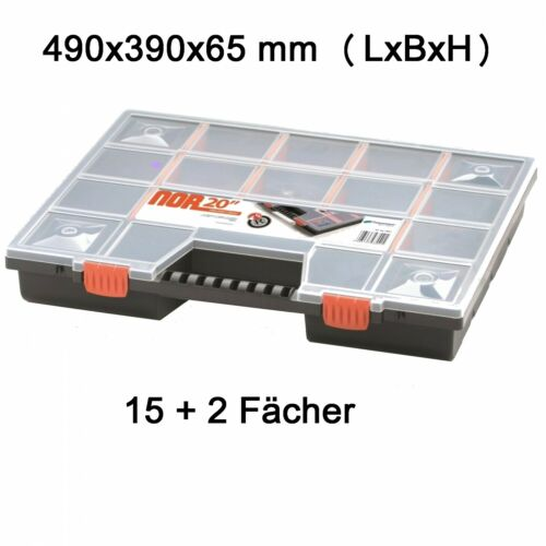 Assortiment encadré XXL Assortiment Boxe vue encadré Sortierkasten nor20-2er Set