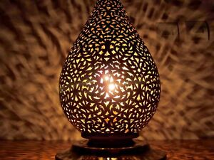 Moroccan table lamp engraved totally by hand lovely and charm image is loading moroccan table lamp engraved totally by hand lovely aloadofball Images