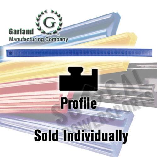 1997-1999 Garland Snowmobile Hyfax Slide Blue 57.00in Polaris 700 RMK