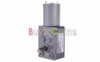 DC 12V 2RPM Square High Torque Turbo Worm Gear Geared Motor HFAU