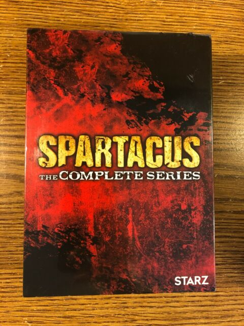 Spartacus The Complete TV Series DVD Season 1-4 1 2 3 4 ...