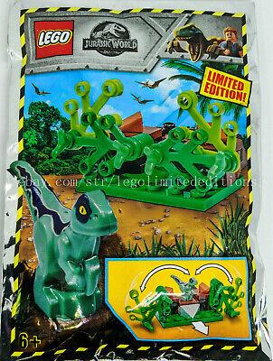 Lego Jurassic World Owen avec Baby Raptor Polybag Set 121904