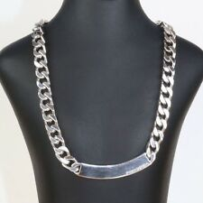 Sterling silver heavy necklace made by Pianegonda Italy