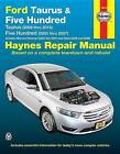 Ford Taurus (08-14) and Five Hundred (05-07) Automotive Repair Manual by Haynes Manuals Inc (Paperback, 2015)
