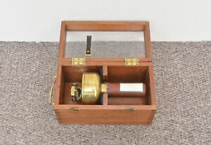 antique-compass-vintage-SESTREL-hand-held-compass-boxed-Free-delivery