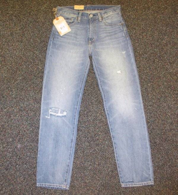 B1  NWT DENIM & SUPPLY RALPH LAUREN ALENA HIGH-RISE BOYFRIEND JEANS 25