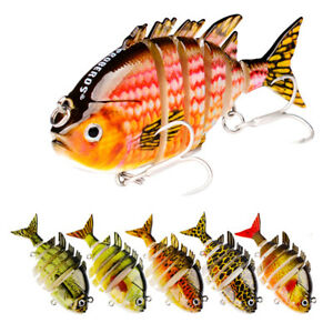 ITS-8cm-Fishing-Artificial-Lifelike-Lure-Wobbler-Fish-Wiggle-Bait-Multi-Jointed