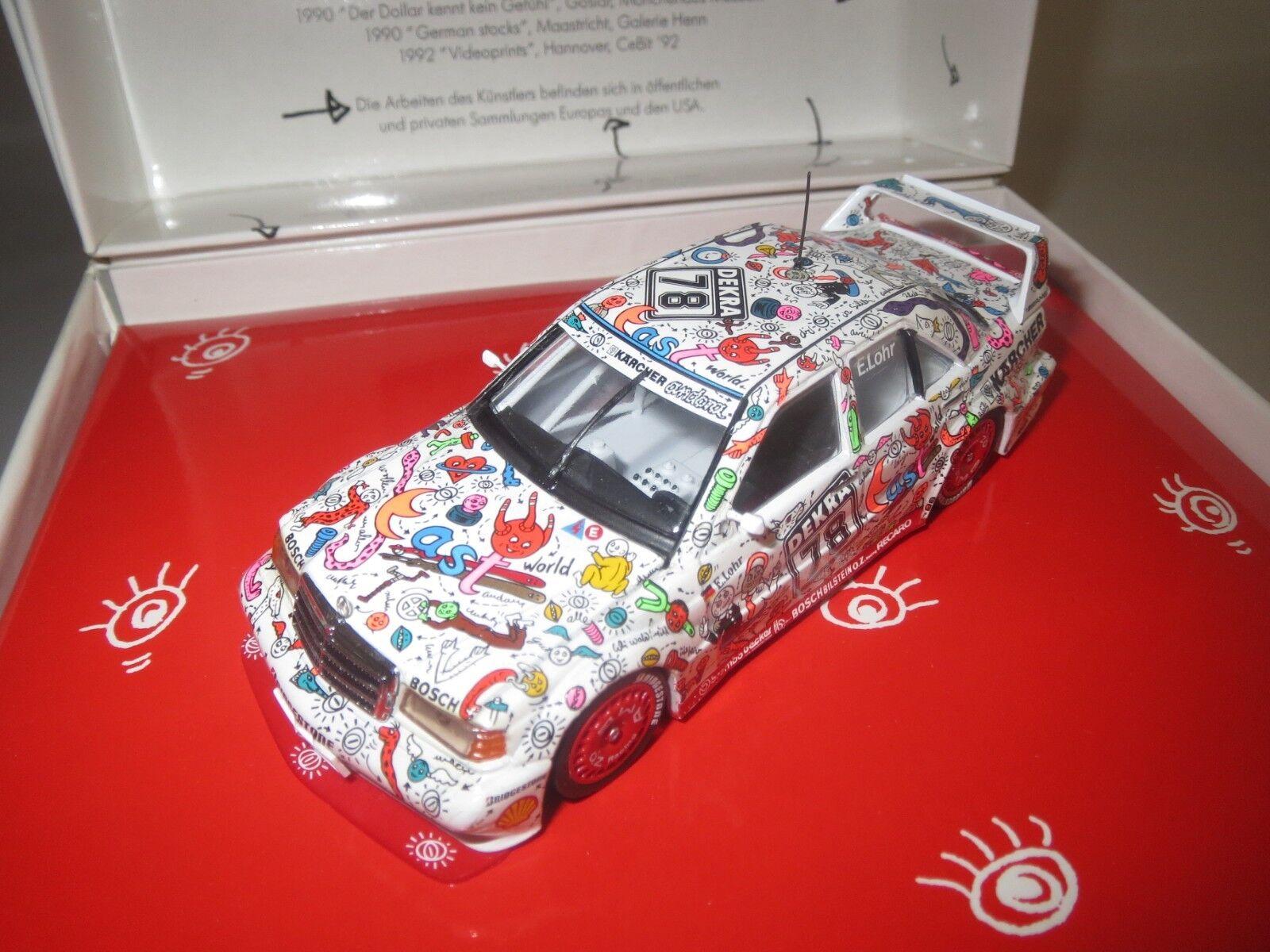 Minichamps tipo  car Edition Mercedes-Benz 190 e camionista  tipo E. LOHR 1 43 OVP  067a3e
