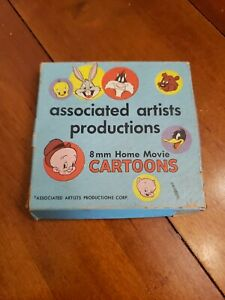 8-mm-Home-Movie-Cartoons-A-24-8MM-Associated-Artist-Productions-Fast-Ship