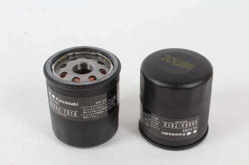 2 Pack Genuine Kawasaki 49065-7010 Oil Filter OEM