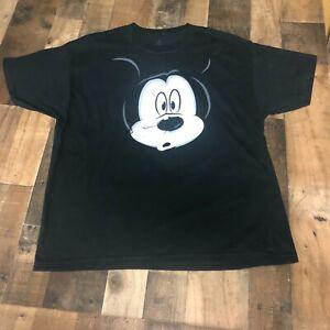 Camiseta-Mickey-Mouse-Walt-Disney-XL-XL-cara-Frontal-Trasero-Hanes