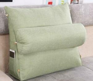 Washable Wedge Cushion Pillows Sofa Bed