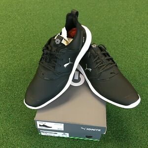 New In Box Puma Ignite Nxt Pro Spikeless Golf Shoes 192401 02 Black Sz 9 Ebay