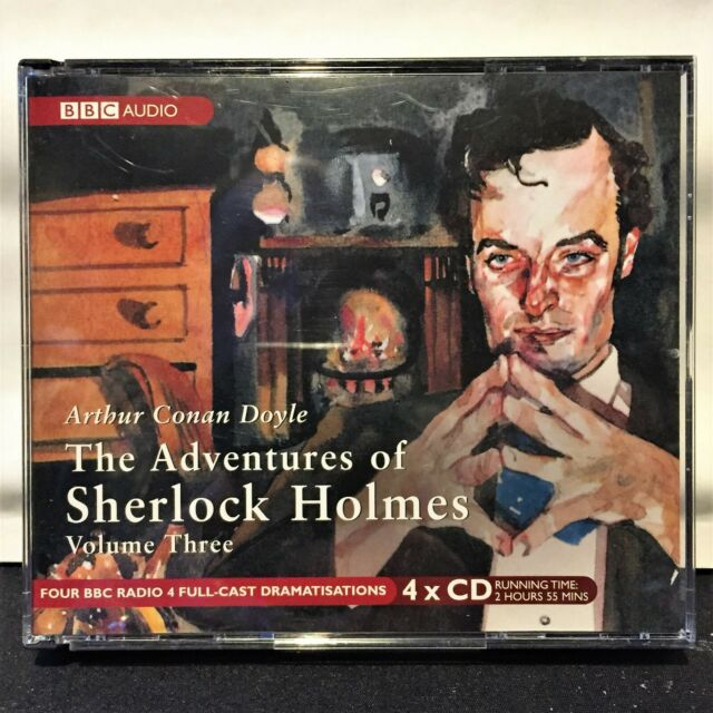 The Adventures of Sherlock Holmes. Vol Three ~ BBC Full-cast audio cd