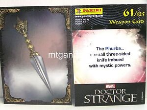 Doctor-Strange-Movie-Trading-Card-1x-061-Weapon-Card-Foil-TCG