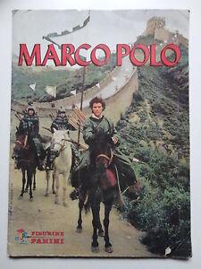 EDIZIONI PANINI 1982 con 155 figurine Album MARCO POLO