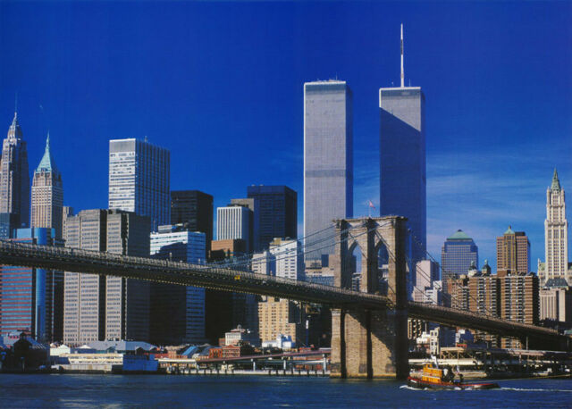 Poster Photo Ny Skyline Trade Center Twin Towers By Noton Pp0305 Rc53 S