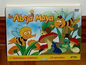 LA-ABEJA-MAYA-PRIMERA-TEMPORADA-COMPLETA-PACK-6-DVD-NUEVO-PRECINTADO-ANIMACION