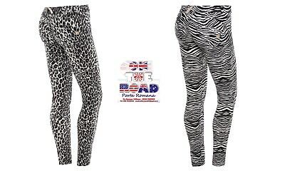DISCOUNT 30/% FREDDY WR.UP XS S M L XL TROUSERS PUSH UP WRUP1RJ16E BICOLOURED