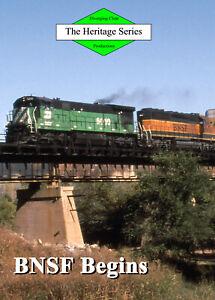 Railroad-DVD-The-beginning-of-BNSF-The-Santa-Fe-and-Burlington-Northern-merger