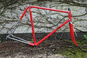 Bicicletta da corsa vintage quadro sr cinelli supercorsa rh 57cm m m