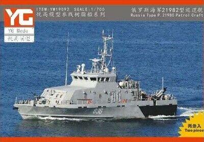 YG resin kit 1//700 Russian Type P.11351 patrol vessel Krivak III