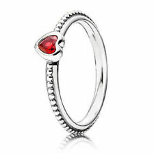 11ebc95a9 item 3 New Authentic Pandora One Love Red Heart Ring 190896SGR W Tag &  Suede Pouch -New Authentic Pandora One Love Red Heart Ring 190896SGR W Tag  & Suede ...