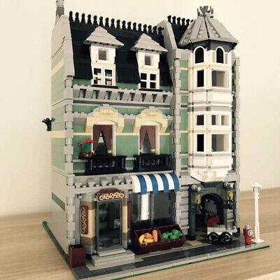 1278PCS City Street Creator Coffee Cafe Shop Building Blocks Figures Model New