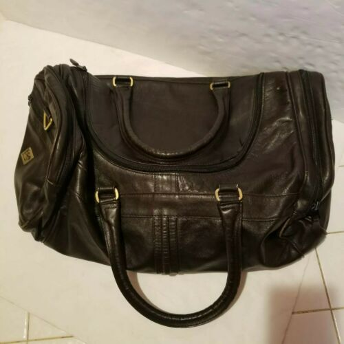 """Scully Leather Duffle Bag 20"""" Brown Scully Italia"""