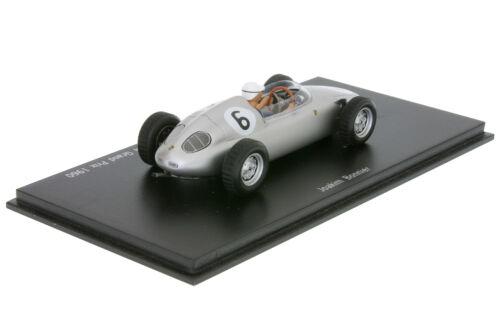 1:43 Porsche 718 RS 60 Formula Libre Bonnier Südafrika 1960 Spark MAP02021313