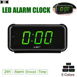 44500bcc6012 La imagen se está cargando Reloj-Despertador-Digital -Moderno-Led-repeticion-de-alarma-