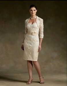mother of the bride dress with a jacket